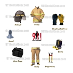 Fire Gear Standard Rental Package (Long Semester 10 Months)